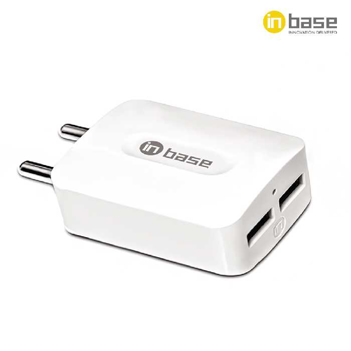 3.1A Dual USB with Lightning Cable