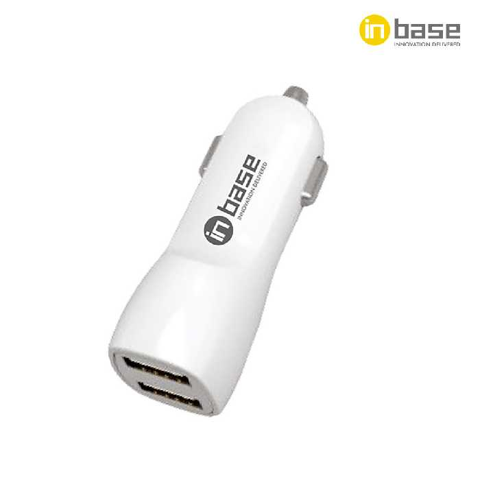 3.1A Dual USB with 2 in 1 Car Charger