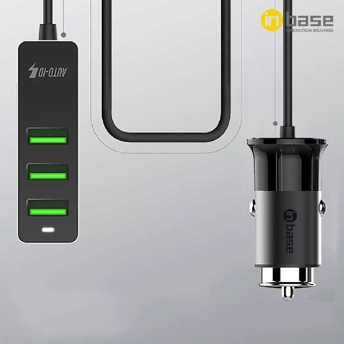 5.1A QC Combo Car Charger 4X USB