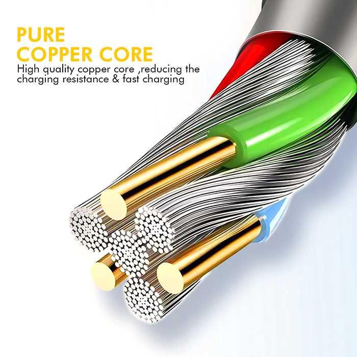 Ultra Tough Denim Series Micro Cable -1.2M