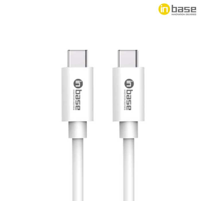 Type C - C Cable - Charge and Sync 60W Fast Cable - White 1.2M
