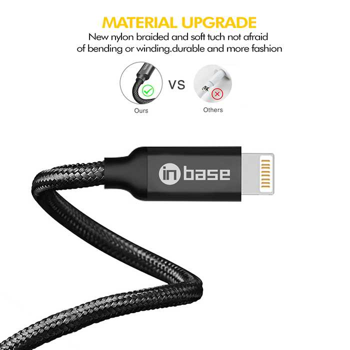 Ultra Tough Auto Disconnect Series Lightning Cable - 1.2M