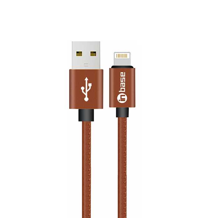 Ultra Tough Leather Series Lightning Cable 1.2M