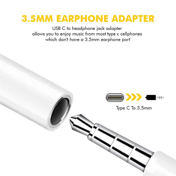 3.5MM Type C Audio Jack
